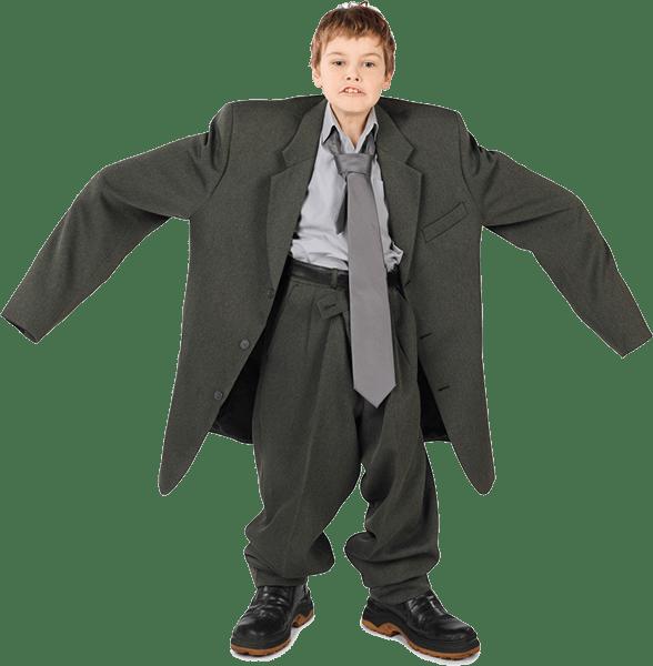 child-suit-hero