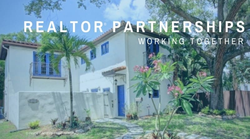 Realtor® Partnerships are welcome with Tampa Bay area real estate professionals