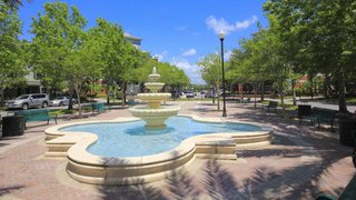 Wetschase public square and ornamental fountain