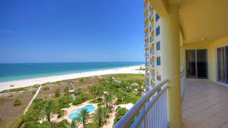 Luxury highrise condominium on the beach in Clearwater Florida