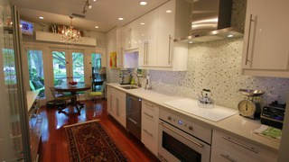 Luxury kitchen in the Hyde Park area of South Tampa